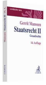Manssen, Staatsrecht II, 18. Auflage